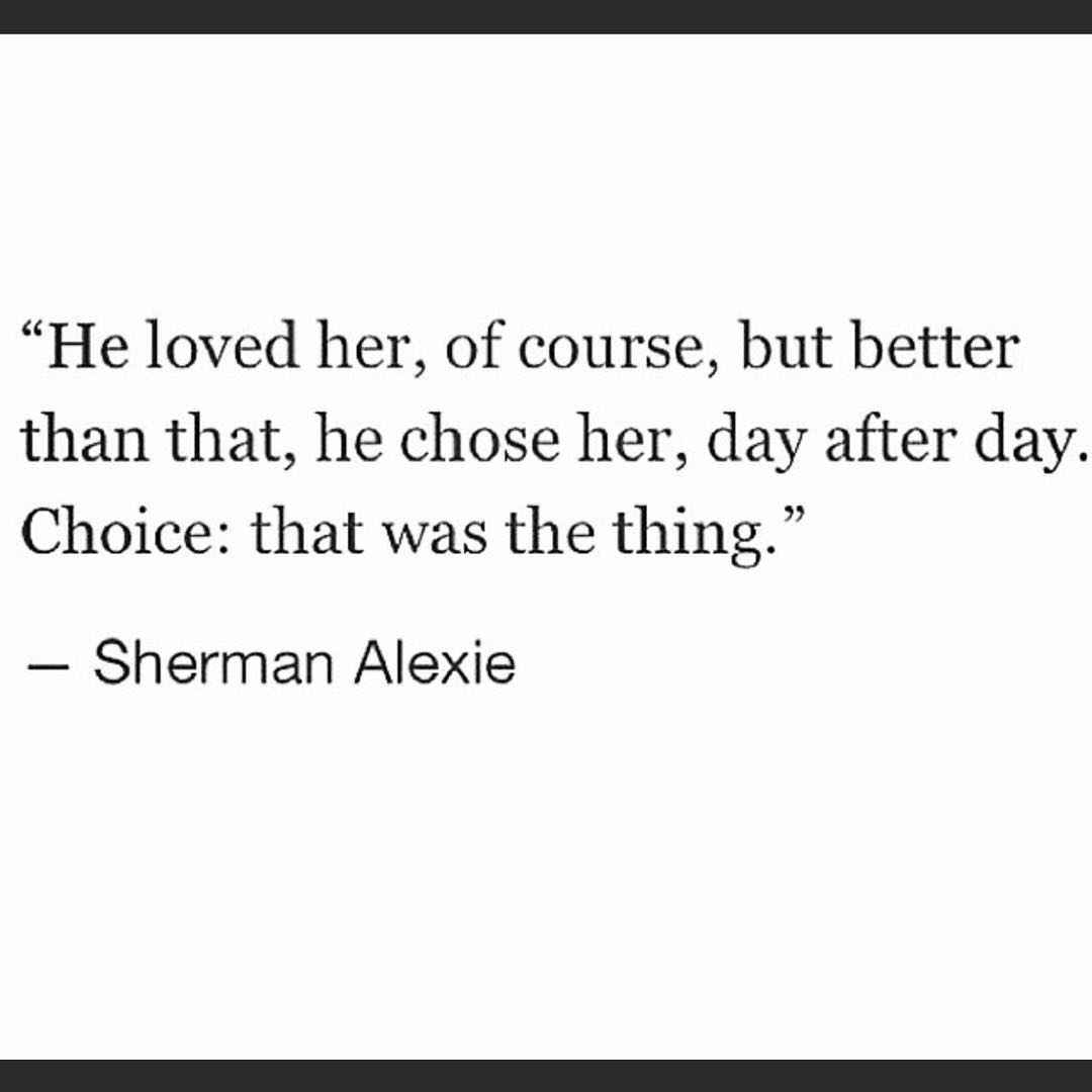 choice to love
