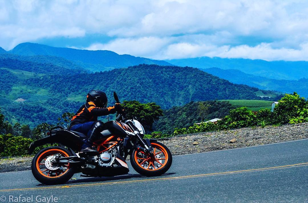 Inclinacin  by rgayles duke costarica turrialba duke390 motorcycle ridehellip