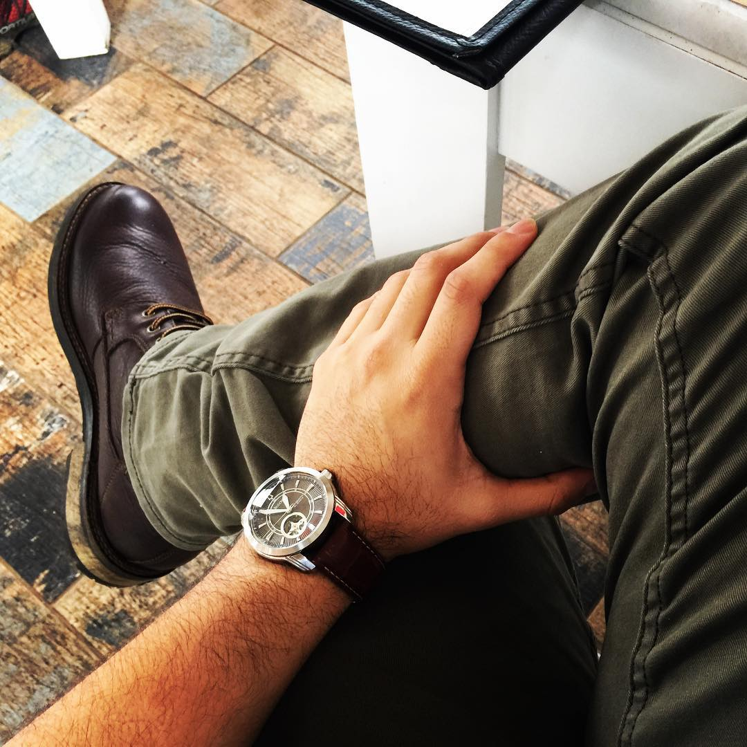 LA Pata shoes hollisterco bulova watch reloj botas johnstonmurphy