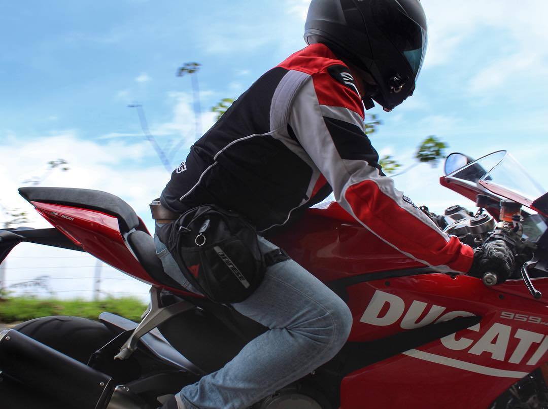 Streets of Costa Rica on a Panigale   hellip