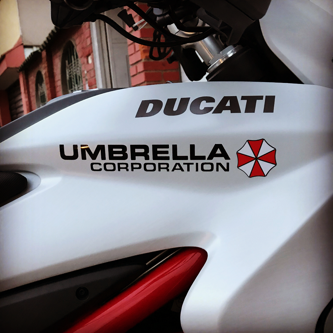 Our business its life itself8230 Resident Evils Ducati  hellip