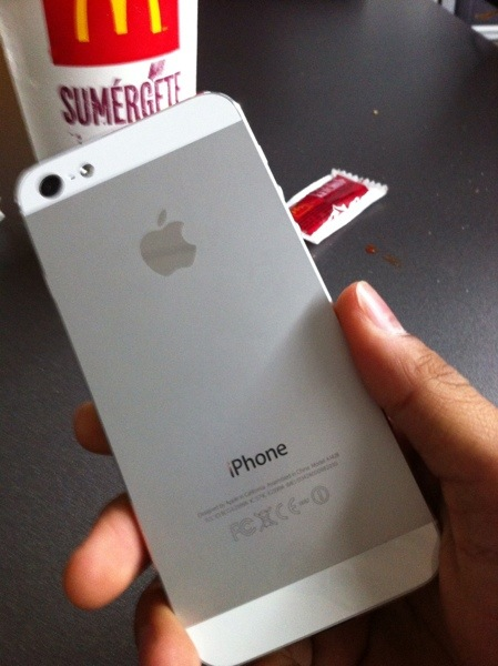iPhone5 Yei!